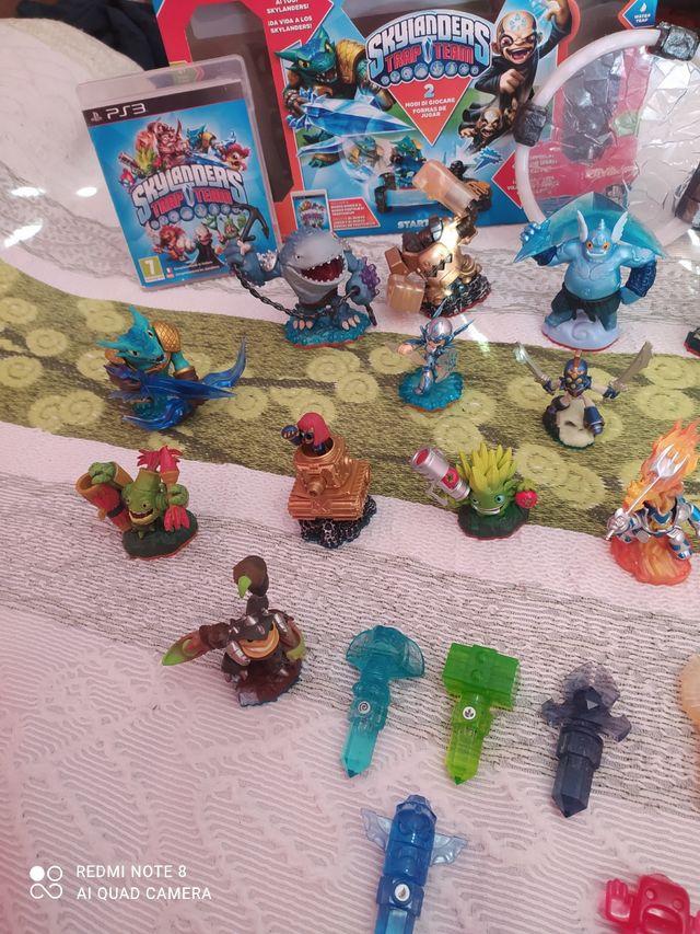 juego Skylanders PS3 y accesorios