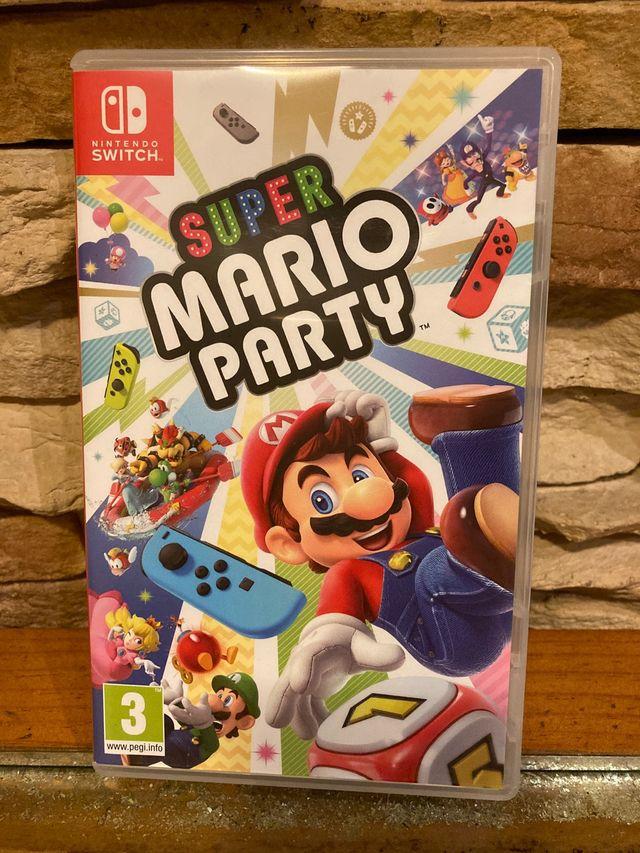 Súper Mario Party Switch