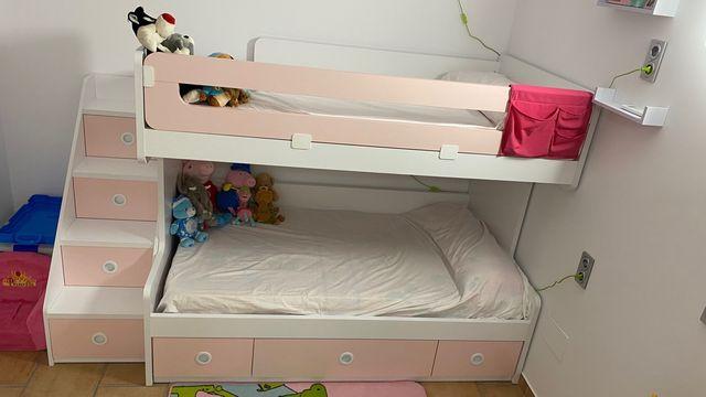 Litera de camas de 105