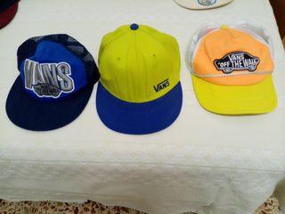 Gorras, diferentes tipos y marcas