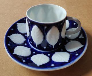 CASTRO PORCELANA TAZA Y PLATO CAFE