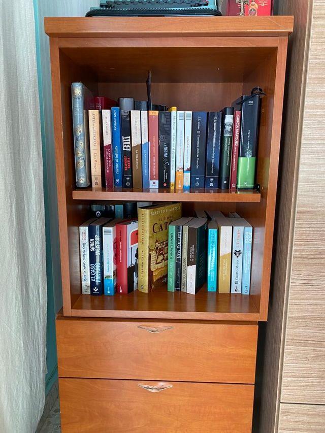 Libreria con dos cajones