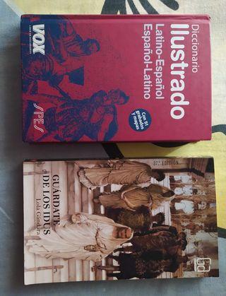 Diccionario latín-español y libro de lectura