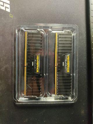 Memorias RAM corsair vengeance 2x4 DDR4 3200MHz