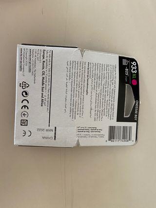 Cartucho tinta 933 XL a estrenar Magenta