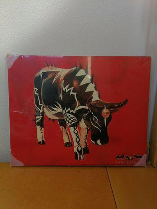 cowparade cuadro NUEVO diseño colección