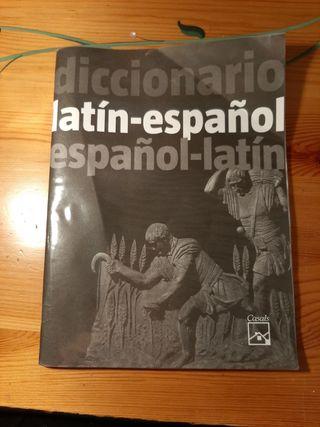 Diccionario latin-español,español-latin