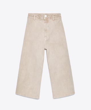 Jeans Marine Bermuda. 38. Zara