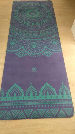 Esterilla yoga de caucho natural