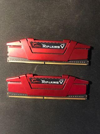 Memorias RAM 2x4GB