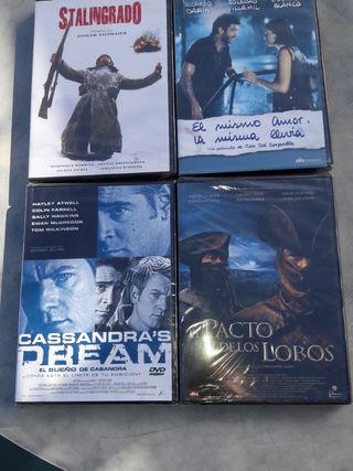 Películas DVD. nuevas precintadas.
