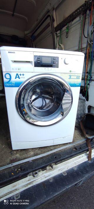 lavadora Beko de 9 kilos