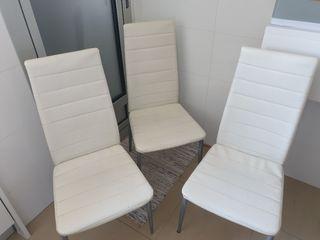 silla cocina comedor, 4 sillas