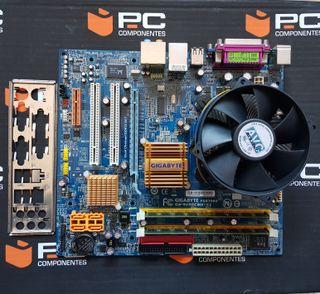 Placa Base 775 Gigabyte GA-945GCMX-S2, CPU y RAM
