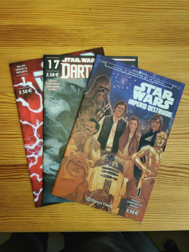 Comics variados Star Wars