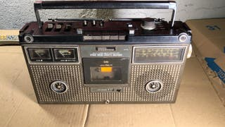Stereo radio cassette recorder JVC nivico