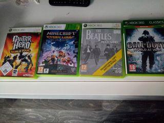 Xbox 360 Seminueva, 2 mandos, lote de 11 juegos.