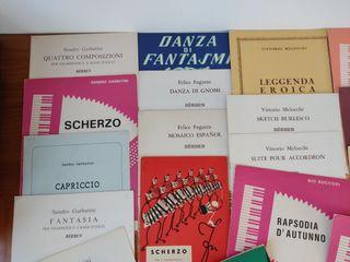 Partituras de acordeón compositores italianos