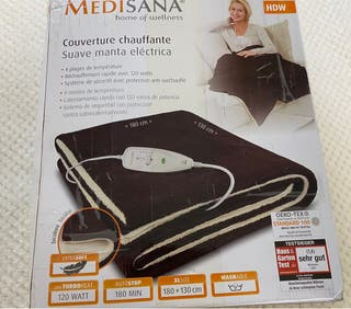 Manta eléctrica Medisana HDW 180* 130cm NUEVO