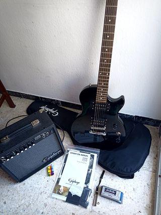 Guitarra eléctrica principiante Epiphone Les Paul