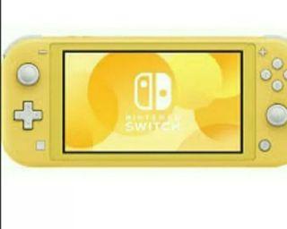 yellow nintendo switch