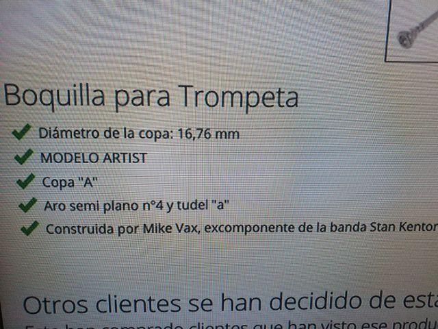 Boquilla de trompeta Schilke 13A4A