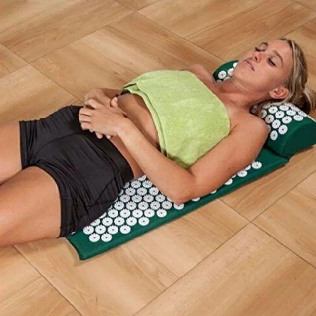 Esterilla de acupresion para Yoga
