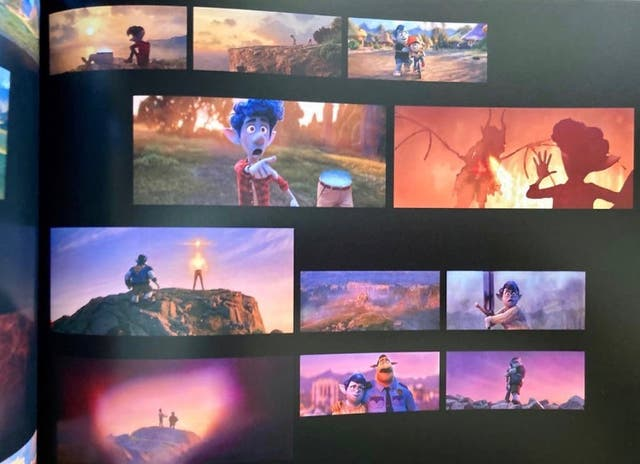 The art of Onward Pixar libro de arte