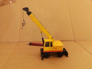 camión grúa pluma miniaturas joal metal juguete