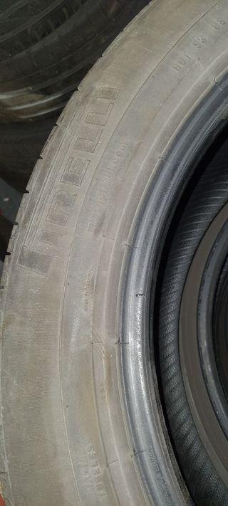 coche neumáticos pirelli