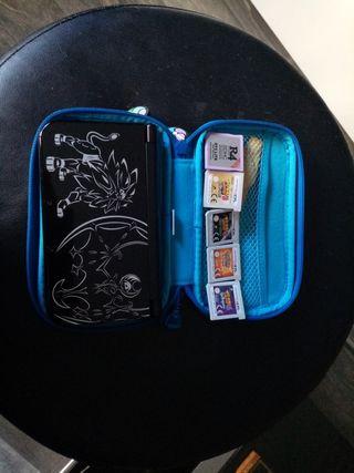 Nintendo 3DS edicion limitada Sol y Luna y juegos