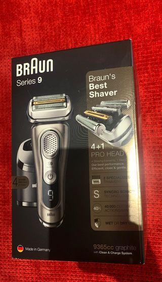 Afeitadora Braun 9365cc