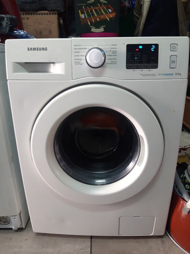 lavadora samsung 8kg con garantia