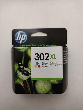 cartucho tinta impresora HP 302 XL color