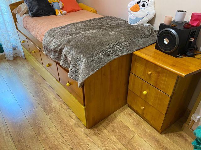 Habitación de madera