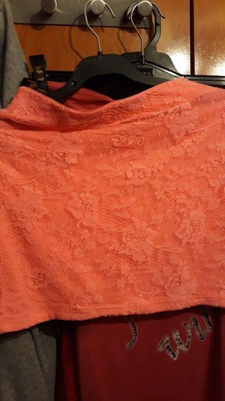 falda niña 11-12 años
