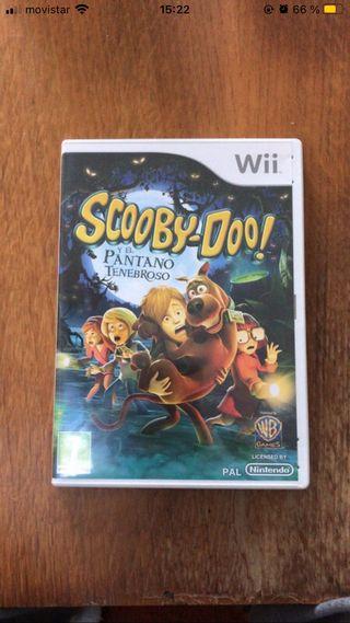 Videojuego Scooby Doo para Wii