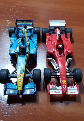 Lote F1 Renault R24 Alonso y Ferrari Schumacher