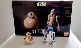 Star Wars BB8 y R2D2 escala 1:12