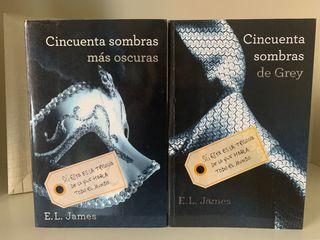 Dos libros Cincuenta Sombras