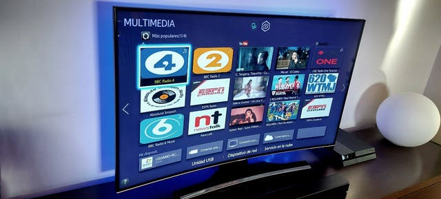 Samsung 55 pulgadas CURVA smart tv