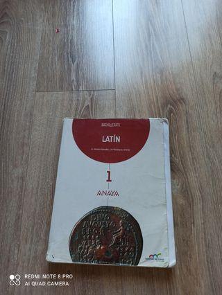 Libro latín 1° de bachillerato
