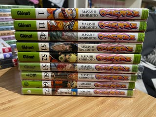 Mangas Naruto Glenat y EDT