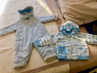 Mono bebé y forro polar 18 meses