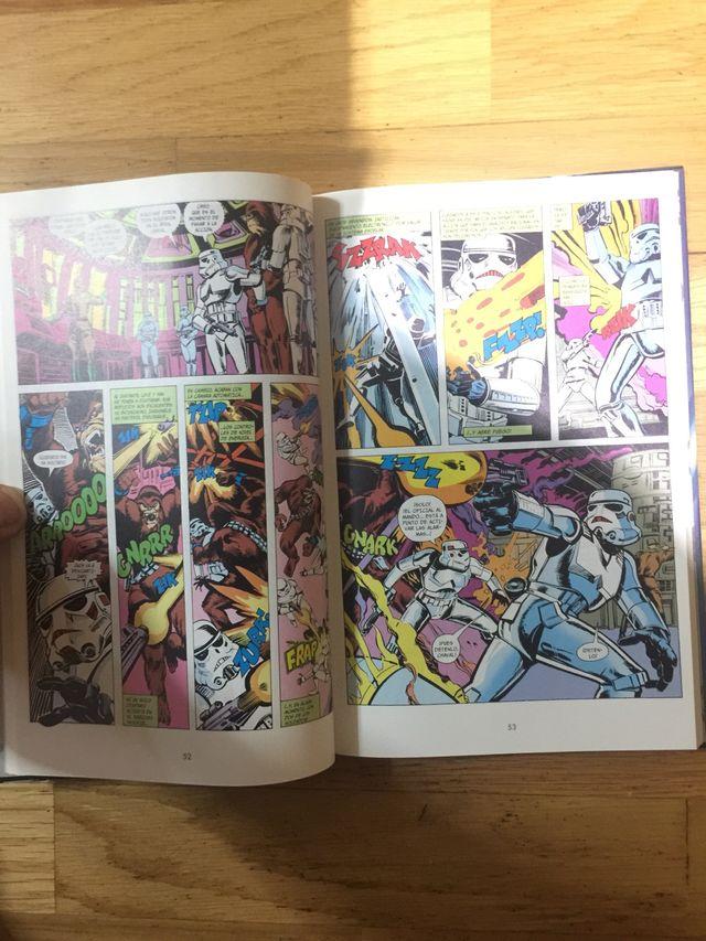 Libro nuevo cómics star Wars clásico