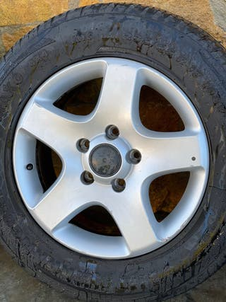 """Llantas Touareg 17"""" con neumáticos"""