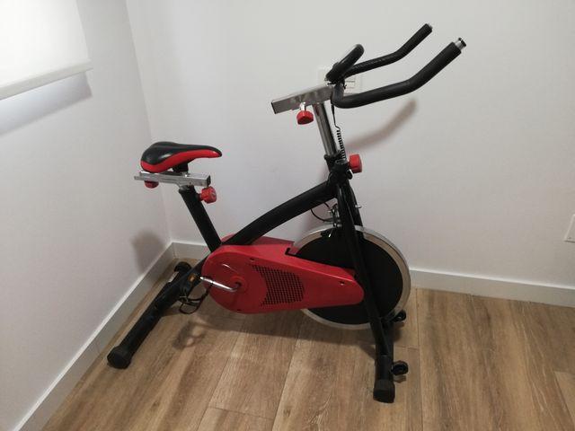 Bicicleta Spinning estática