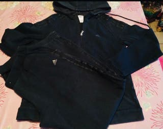 Chándal completo Adidas negro mujer M