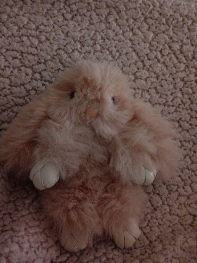 llavero peluche conejo