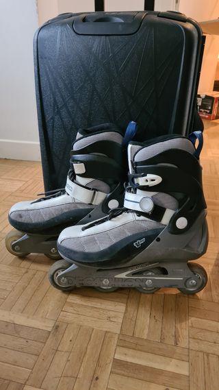 patines decathlon Roller talla 44